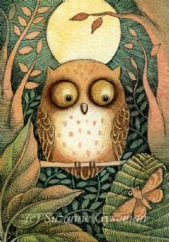 Moon Owl by Suzanne Gyseman