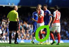 Anyone who still blames Costa for Gabriel's red card is 1:An arsenal fan 2:Hates Costa 3:Knows nothing about football