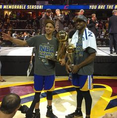Click on the MVP to get your official on-court #DubNation championship apparel