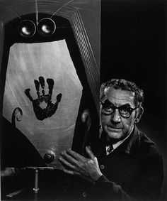 Man Ray by Yousuf Karsh. Man Ray was an American modernist artist who spent most of his career in France. He was a significant contributor to the Dada and Surrealist movements. Lee Miller, Alexander Calder, Famous Photographers, Portrait Photographers, Andy Warhol, Grace Kelly, Man Ray Photos, Matt Hardy, Yousuf Karsh