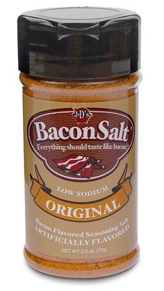 Bacon Salt. Love it on popcorn!