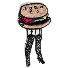 Cheeseburger Legs Patch - Valfre - 1