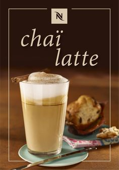There's nothing like this classic Chaï Latte recipe from Nespresso to warm you up from the inside out. Savor the sweet and spicy combination of cinnamon and chai tea as you sip on this indulgent coffee beverage. Plus, thanks to the addition of Fortissio Lungo Grand Cru, this latte is a great way to enjoy your favorite Nespresso flavors on a brisk fall day.