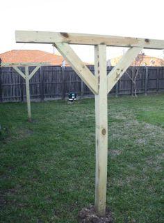 wooden clothesline | Wood Clothesline Design