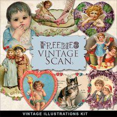 Freebies Vintage Vignettes
