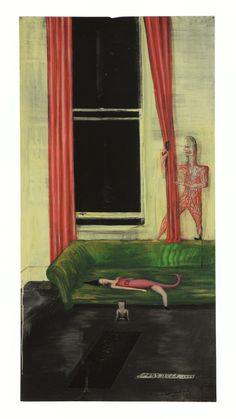 Passover, 1989. Acrylic and varnish on aluminum, 1200 x 613mm. Chartwell Collection, Auckland Art Gallery Toi o Tamaki.