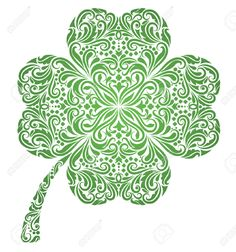celtic four leaf clover tattoo - Google Search