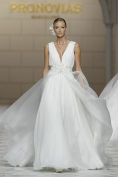 Pronovias 2015 Collections at Barcelona Bridal Week