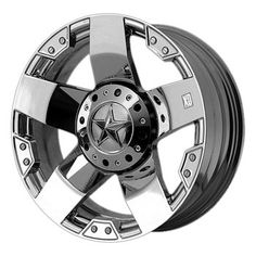 XD Series by KMC Wheels Rockstar Triple Chrome Plated Wheel offset) Truck Rims, Truck Wheels, Custom Wheels, Custom Cars, Custom Jeep, Hummer Parts, 24 Rims, Volkswagen, Convertible