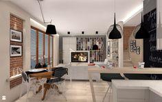 Loft - zdjęcie od ARCHITETTO - Salon - Styl Industrialny