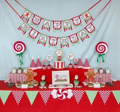 CHRISTMAS SWEET SHOP FIRST BIRTHDAY PART