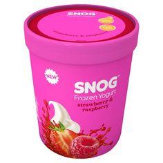 Frozen Yogurt || Strawberry & Raspberry