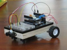 Carduino - A simple Arduino robotics platform with its own library