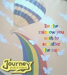 Be a rainbow.
