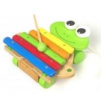 Xylophone Wooden Frog from Easykid Pretend Kitchen, Musical Toys, Baby Online, Beautiful Babies, Wooden Toys, Happy Shopping, Childrens Books, Kids Toys, Birthday Gifts
