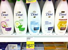 """When I was growing up…I don't think we ever bought """"body wash"""". It was Ivory or Dovebar soap…or nothing at all. :-) Even after I first got married we still did the bar soap thing…because I remember trying to convince the hubster that Dove soap was better than Irish Spring. lol. (I still try to …"""