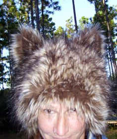 Hey, I found this really awesome Etsy listing at https://www.etsy.com/listing/114350260/furry-wolf-hat-ears-brown-really-real