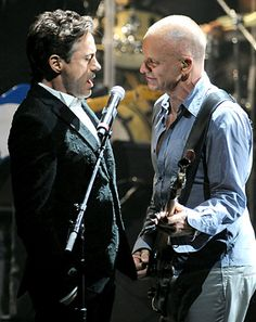 Robert Downey Jr. Sings With Sting: Amazing Video - Us Weekly - Yet another reason I adore him :-)