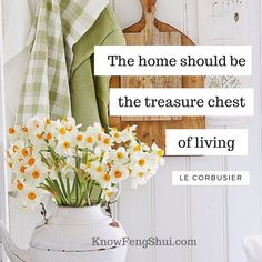 The home should be the treasure chest of living Feng Shui Tips, Treasure Chest, Life Inspiration, Diy Ideas, Inspirational Quotes, Home, Life Coach Quotes, Inspiring Quotes, Ad Home