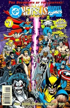 DC vs. Marvel Comics (issues #2-3 titled Marvel vs. DC Comics) is a comic book limited series crossover published by DC Comics and Marvel Comics from April to May 1996.The series was collected into a trade paperback titled DC versus Marvel Comics