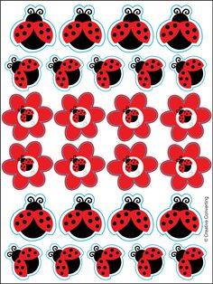 LadyBug Fancy Sticker Sheets Have fun with these cute little ladybugs! LadyBug Fancy Sticker sheets have 26 ladybugs on each sheet. Price is for 4 sticker sheets. Ladybug Party Supplies, Kids Party Supplies, Birthday Party Themes, Girl Birthday, Frozen Birthday, Theme Parties, Cumpleaños Lady Bug, Baby Ladybug, Party Stores