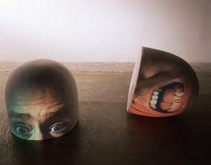 Tony Oursler, 'Half (Brain),' 1998, Metro Pictures