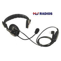 Kenwood KHS-7A HD Single Muff Headset for TK & NX Series