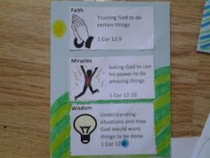 Flame: Creative Children's Ministry: Exploring the gifts of the Spirit with 5-11s!
