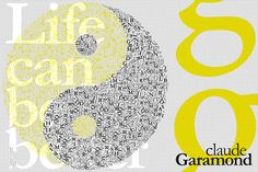 typeface by Nancy Skerletidou, via Behance