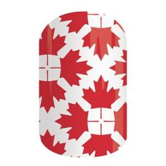 O Canada | Jamberry Red maple leaves combine to represent our home and native land.
