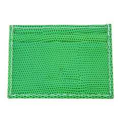The Green Lizard is one of the most extravagant wallets in our collection. This ultimate eye-catcher will definitely draw attention! #quasso #wallet #cardcase #green #lizard