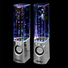 DANCING WATERING SPEAKER SET you can get them at Spencer's, need to get some!!!
