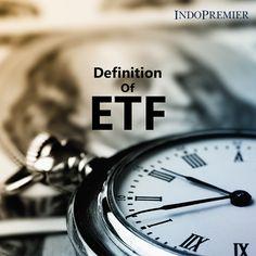 ETF, atau Exchange Traded Fund adlh instrumen investasi yg kinerjanya mengacu pd indeks tertentu dan diperjualbelikan layaknya sprt saham di bursa yg dpt dicermati pergerakannya. Tidak seperti reksa dana, ETF diperdagangkan seperti saham biasa di bursa saham. Harga ETF bisa berubah setiap hari tergantung dari transaksi jual dan beli yang dilakukan oleh investor. ETF biasanya memiliki likuiditas harian yg lebih tinggi & biaya rendah dr reksa dana saham, sehingga ETF menjadi alternatif…