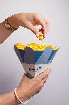 Garrett Popcorn Shops Cones (Student Project) on Packaging of the World - Creative Package Design Gallery