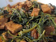 Adobong Kangkong w/ Tofu