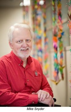 """Mike Snyder is many things, among them a #cancerfighter, a Lazarex VIP (very important patient) and an excellent writer and speaker. Read his blog here about """"Dealing with pre-appointment anxiety and doubt""""."""