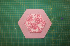 Click here for a print friendly PDF  Since I posted my picture a few weeks ago of my Quilt As You Go Hexagons, I've had a couple of people a...