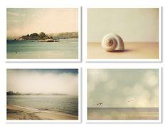 Coastal Collection Print Set