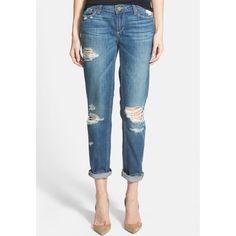 "Paige Jimmy Jimmy Skinny Boyfriend Jeans NWT! Danica Destructed 100% Cotton. 31"" inseam. Paige Jeans Jeans Boyfriend"