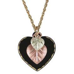 Black Hills Gold Triple Heart Pendant - Zales