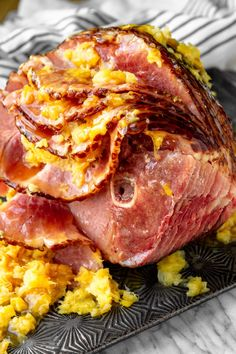 Easy Instant Pot Ham -- you simply can't go wrong with this simple pressure cooker ham recipe. All you need is a bone-in spiral ham + crushed pineapple & brown sugar to make the easiest, most delicious ham ever! Pressure Cooker Ham, Instant Pot Pressure Cooker, Pressure Cooking, Instant Pot Ham Recipe, Brown Sugar Ham, Slow Cooked Pulled Pork, Spiral Ham, Ham Recipes, Dinner Recipes