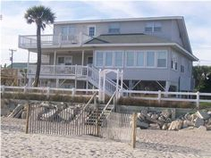 a vacation beach house (not necessarily this one).
