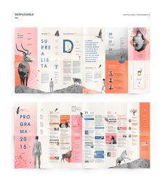 María Victoria Vecchio on Behance Web Design, Page Layout Design, Magazine Layout Design, Book Layout, Leaflet Layout, Leaflet Design, Brochure Layout, Pamphlet Design, Booklet Design