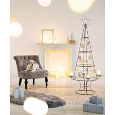 deko objekt weihnachtsbaum metall glas ca h150 cm vorderansicht weihnachtsdeko pinterest. Black Bedroom Furniture Sets. Home Design Ideas