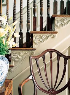 This Ivy House — savannahlondon: Even the stairs need a small. Interior Exterior, Interior Design, Stair Detail, Ivy House, House Yard, Southern Homes, Southern Charm, Southern Living, Architectural Elements