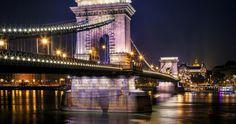 budapest bridge 4k ultra hd wallpaper