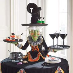 Witch Decorations | Witch Decor | Witch Figures | Grandin Road