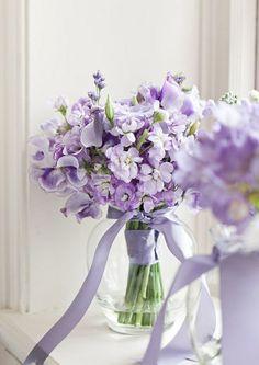 Jolie bouquet violet