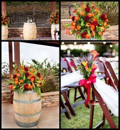 Ideas for the ceremony site