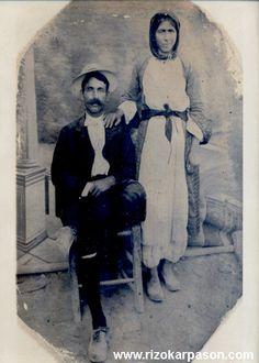 Cyprus couple early 20th century, Rizokarpaso